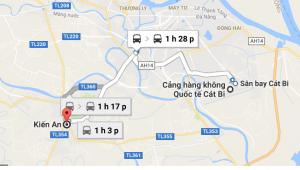 xe đưa đón sân bay Cát Bi Kiến An
