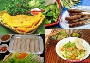 Đặc sản bánh tráng cuốn thịt heo của Đà Nẵng