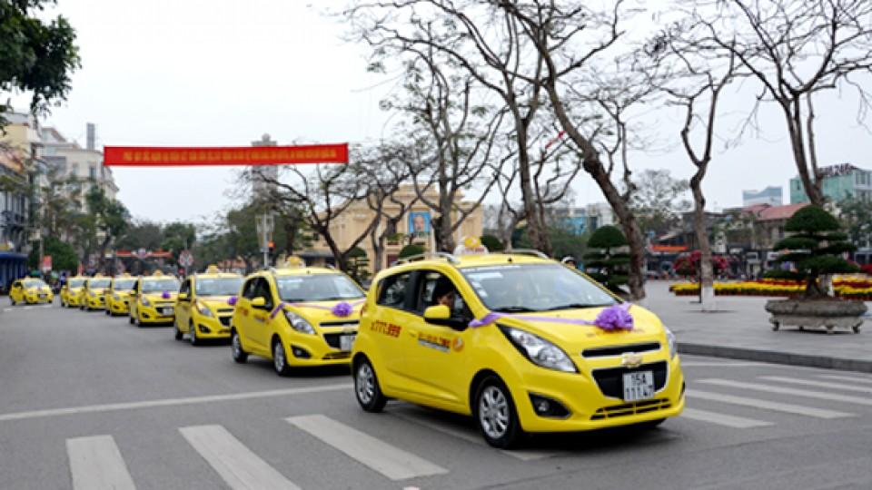 Xe taxi đưa đón tại sân bay Cát Bi Hải Phòng