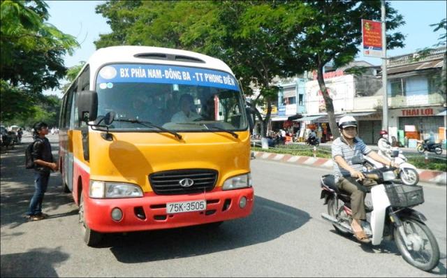 Xe buýt sân bay Huế