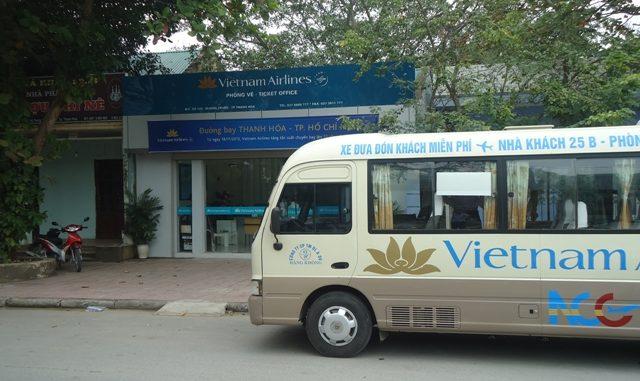 Xe đưa đón sân bay của Hãng Vietjet Air