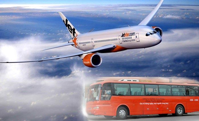 Xe đưa đón sân bay Nội Bài của Jetstar