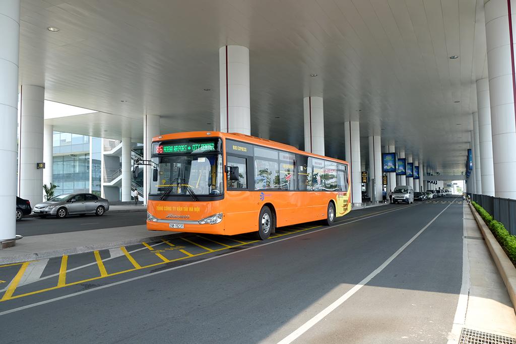 Xe trung chuyển sân bay Nội Bài - Hà Nội