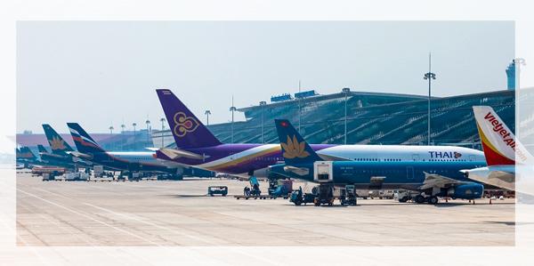 Xe đưa đón sân bay Nội Bài đi Hà Nội của Jetstar