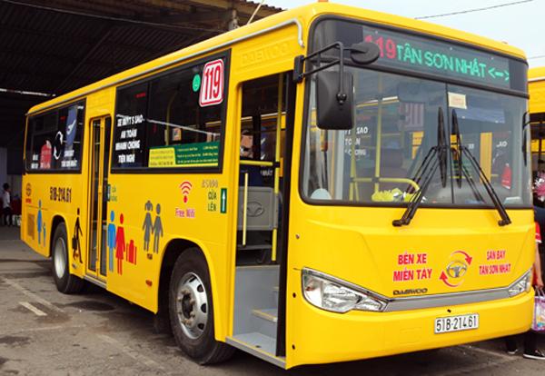 Xe đưa đón sân bay Tân Sơn Nhất đi bến xe Miền Tây