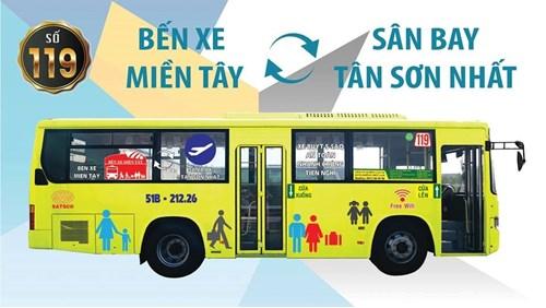 Xe đưa đón saann bay Tân Sơn Nhất đi bến xe Miền Tây