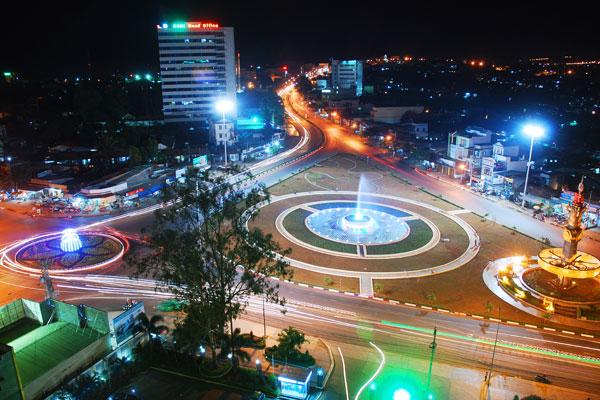 Thị Xã Ayun Pa - Xe đưa đón sân bay Pleiku đi Ayun Pa